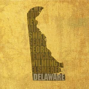 Delaware State Words by David Bowman