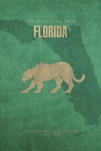 Florida Poster by David Bowman