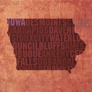 Iowa State Words by David Bowman