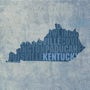 Kentucky State Words by David Bowman