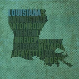 Louisiana State Words by David Bowman