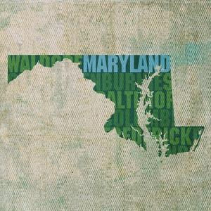 Maryland State Words by David Bowman