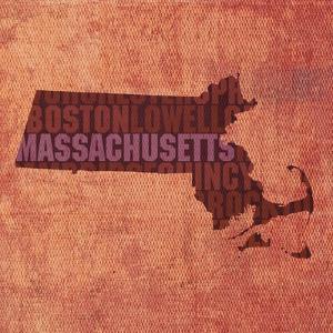 Massachusetts State Words by David Bowman