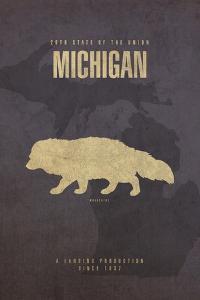 Michigan Poster by David Bowman