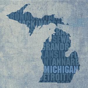 Michigan State Words by David Bowman