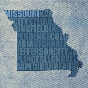 Missouri State Words by David Bowman