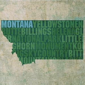 Montana State Words by David Bowman