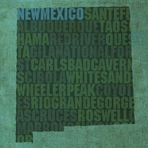 New Mexico State Words by David Bowman