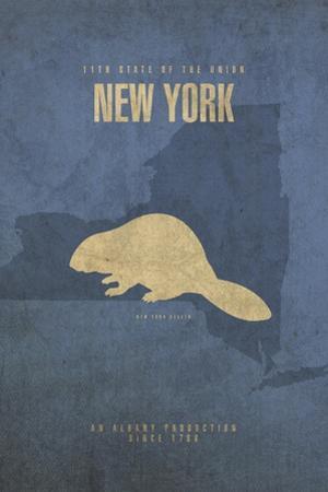 New York Poster by David Bowman