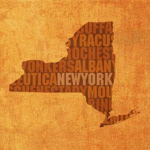 New York State Words by David Bowman