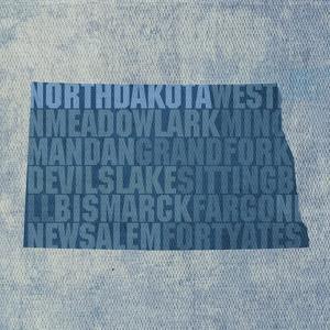 North Dakota State Words by David Bowman