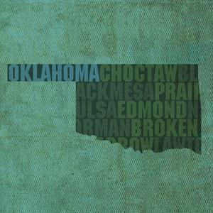 Oklahoma State Words by David Bowman