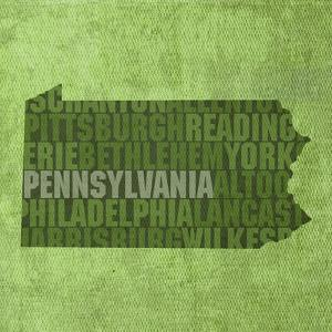 Pennsylvania State Words by David Bowman
