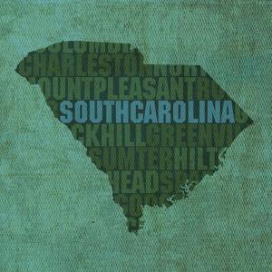 South Carolina State Words by David Bowman