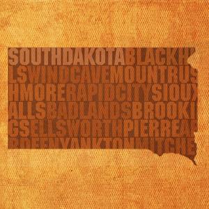 South Dakota State Words by David Bowman