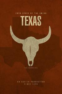 Texas Poster by David Bowman
