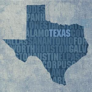 Texas State Words by David Bowman