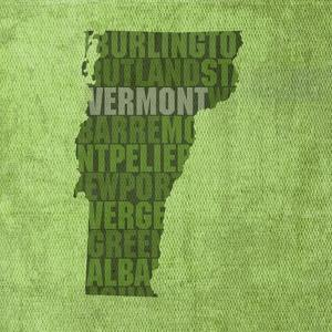 Vermont State Words by David Bowman