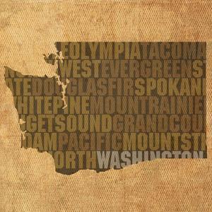 Washington State Words by David Bowman