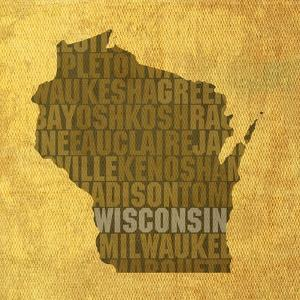 Wisconsin State Words by David Bowman