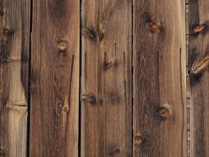 Wood-Paneled Wall by David Boyer