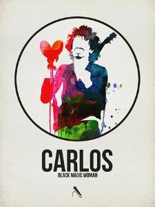 Carlos Watercolor by David Brodsky