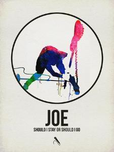 Joe Watercolor by David Brodsky