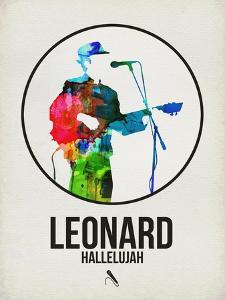 Leonard Watercolor by David Brodsky