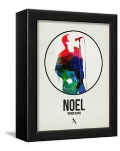 Noel Watercolor by David Brodsky
