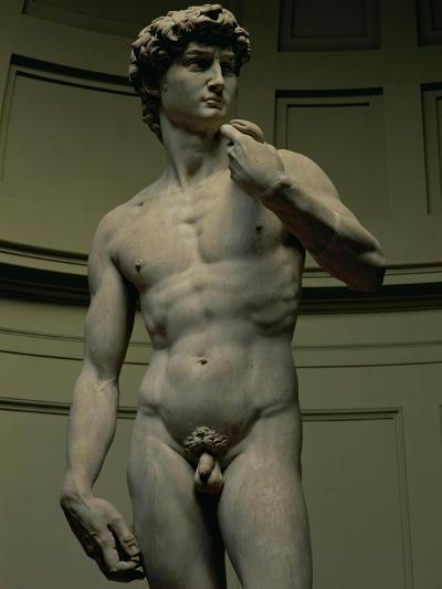 David by Michelangelo Buonarroti, 1501-04--Giclee Print