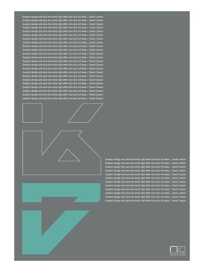 David Carson Poster-NaxArt-Art Print