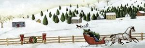 Christmas Valley Sleigh by David Carter Brown
