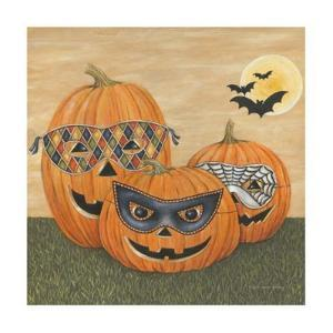 Funny Pumpkins by David Carter Brown