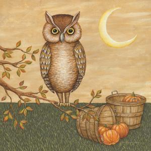 Halloween Owl by David Carter Brown