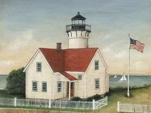 Lighthouse Keepers Home by David Carter Brown