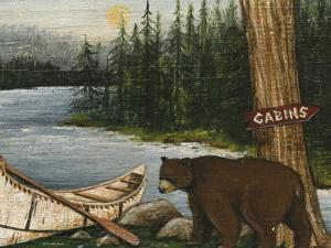 Northwoods Bear Crop by David Cater Brown