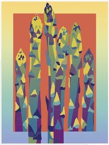 Asparagus by David Chestnutt