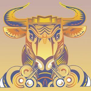 Bull by David Chestnutt