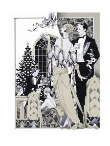 Deco Christmas by David Chestnutt