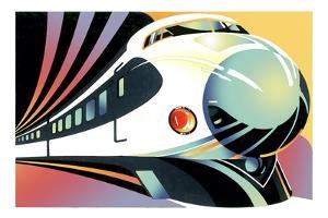 Japanese High Speed Train by David Chestnutt