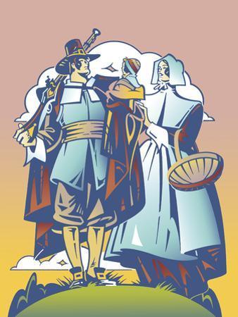 New Pilgrim by David Chestnutt