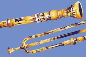 Old Instruments by David Chestnutt