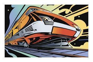 Train-High Speed by David Chestnutt