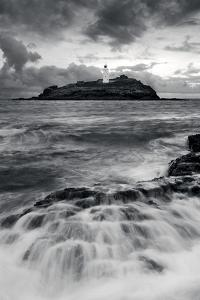 Godrevy Lighthouse, Cornwall, England by David Clapp