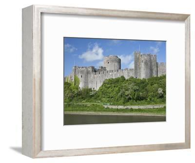 Pembroke Castle in Pembroke, Pembrokeshire, Wales, United Kingdom, Europe