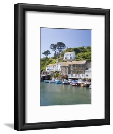 The Harbour in Polperro in Cornwall, England, United Kingdom, Europe
