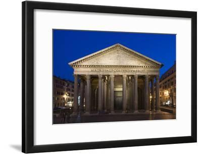 The Pantheon at Dusk, Rome, Italy