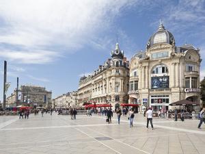 The Place De La Comedie, Montpellier, Languedoc-Roussillon, France, Europe by David Clapp