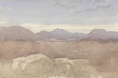 A Mountainous View, North Wales, C.1818