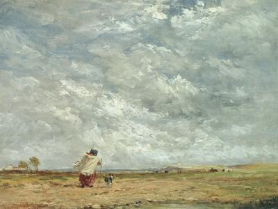A Windy Day, 1850